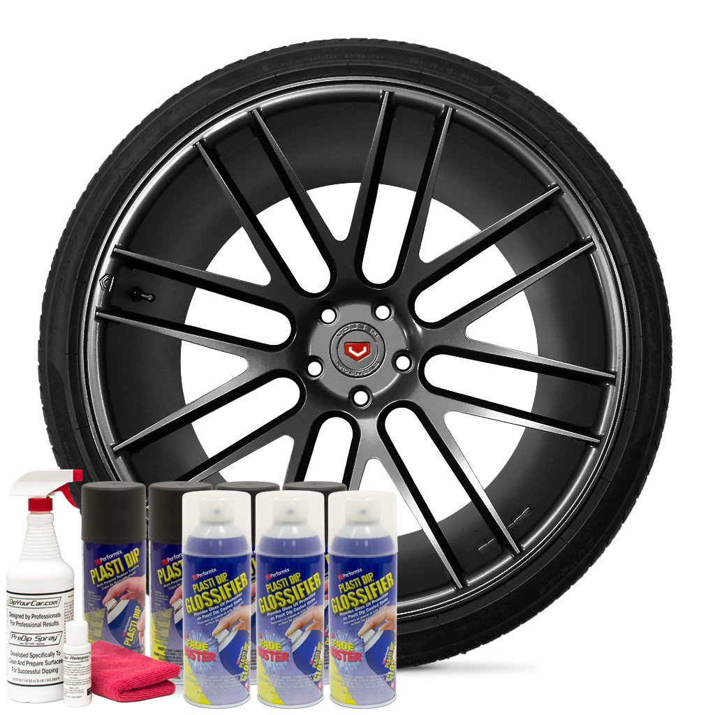 Plasti Dip Pack jantes Anthracite Brillante