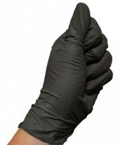 COLAD Gants en nitrile Noir