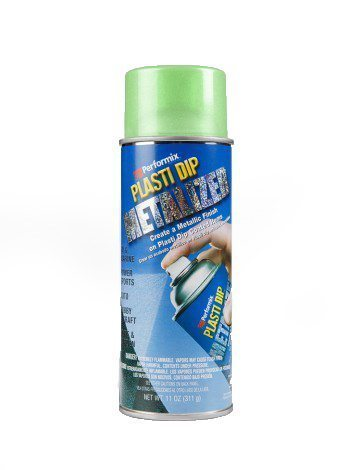 Plasti Dip Spray Green Metalizer