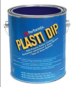 Plasti Dip Gallon Mat Black Blue