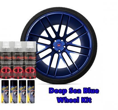 Plasti Dip Pack jantes Perle Deep Sea Blue
