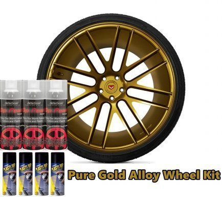 Dip Pearl Wheel Kit Pure Gold